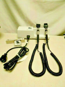 Welch Allyn 767 Transformer Otoscope 25020 Ophthalmoscope 11720 W Mount Plate