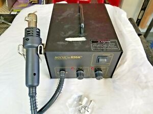 Aoyue 850a 100 To 130 Vac 5 A 500 W 100 To 550 c Smd Rework Station Tested