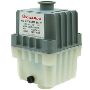 Edwards Emf20 Oil Filter Mist Kf25 Port Exhaust For Rv12 E1m18 Vacuum Pumps