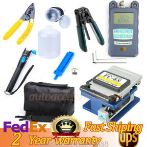 18pcs Brand Newcfs 2 Duplex Optical Fiber Cold Junction Tools Test Pen Set Kits