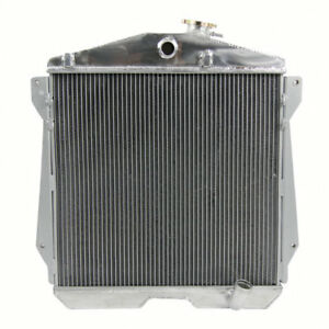 3 Rows Aluminum Radiator For Chevy Car Sedan Coupe 6cyl 1943 1948 Cpa