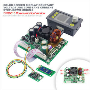 Dps5015 Lcd Voltmeter Ampmeter Programmable Power Supply Module Usb bluetooth