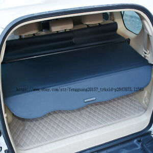 For Toyota Prado Fj120 2003 2009 1pcs Rear Trunk Cargo Cover Security Shade
