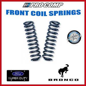 Pro Comp Front Coil Spring Standard Carb For 81 96 F 150 Bronco 24612