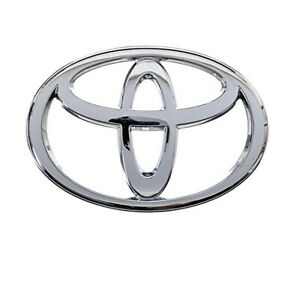 Genuine Oem Toyota Front Grille Emblem Plate Logo Decal 2001 2007 Corolla E120