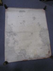 Antique 1882 East India Archipelago Nautical Chart Map 2 China James Imray