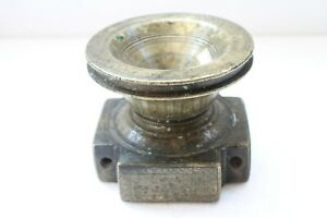 Antique Brass Old Hand Carved Fine Art Mughal Food Seeder Collectible Nh3823