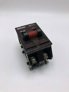 Wadsworth Type A A220ni 2 Pole 20a 240v Metal Clip Style Tested Reconditioned