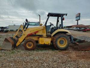 2004 New Holland U80 Skip Loader Landscape Tractor 4950hrs Box Blade