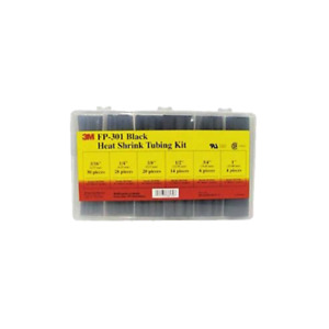 3m Heat Shrink Tubing Assorted Black Kit Fp 301 black