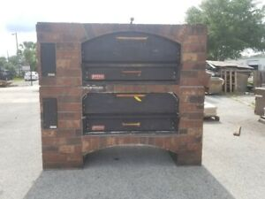 Marsal Mb 60 Stacked Gas Pizza Ovens brick Lined