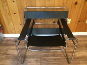 Mid Century Modern Marcel Breuer Wassily Knoll Lounge Chair