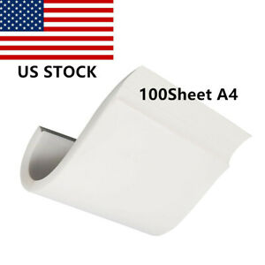100 Sheets A4 Dye Sublimation Heat Transfer Paper For Cup Glass Mug Print Photo
