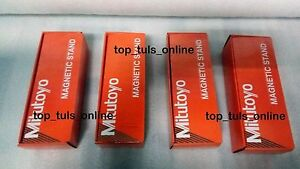 4 X Mitutoyo magnetic base 7011s 10 for dial indicator amp gauges made in japan