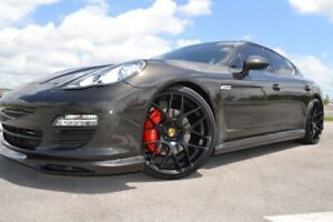 22 Ruger Mesh Concave Wheels Rims For Porsche 970 Panamera V6 S 4s Gts Turbo