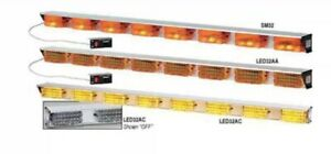 Directional Lightbar Led Amber 51 Federal Signal 321712 12vdc Perm Mounting