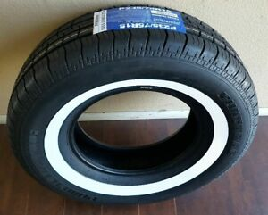 1 P235 75r 15 Inch White Wall Tire 1 1 2 Ww Band Thick Fat Wide Gangster New