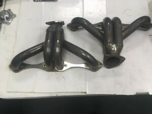 Used Small Block Chevy 265 283 327 350 400 Chrome Shorty Headers