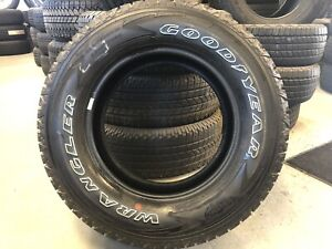 4 Goodyear Wrangler All terrain Adventure W kevlar Lt275x65r18 New Take Off
