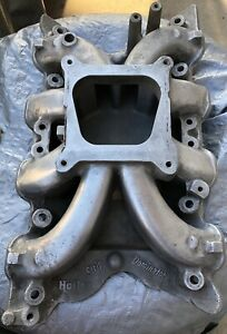 Mustang Fastback Holley Strip Dominator Intake Manifold 4v 351 Cleveland Boss Cj