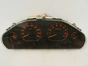 Jdm Toyota Corolla Levin Ae111 6 Spd M T Instrument Gauge Cluster Late Model 4a