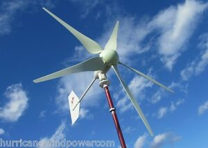 Hurricane Xp 48v Wind Turbine Generator Kit 1000 Watt Max 1500 Watts Sealed Unit