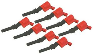 Msd 82428 Ford Blaster Coil on plug Ignition Coil Pack 8 Pack