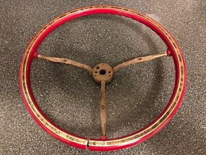 1974 1975 1976 Cadillac Red Steering Wheel