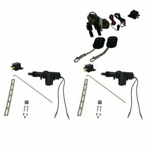 5 Functions Remote Shaved Door Popper Kit With Actuators