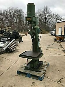 Drill Press Floor Standing Geared Head 3 Phase