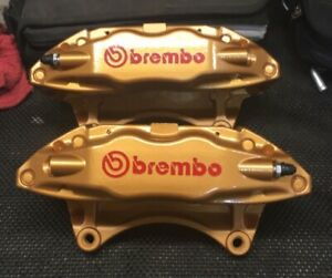2 04 07 Subaru Sti Front Calipers Pair Remanufactured 4pot Impreza Turbo Wrx