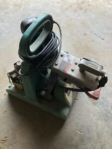 Mcelroy Pitbull No 14 Plastic Pipe Fusion Machine Facer Heater W Heater Bag