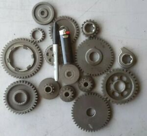 15 Pc 5 Lbs Of Gears Cogs Steampunk Art Makers Industrial Decor Design 20
