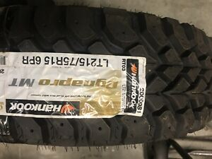 31x1050r15 6pr Hankook Dynapro Mt Never Been Mounted