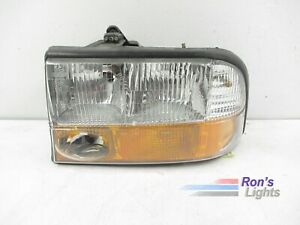 1998 1999 2000 2001 Gmc Jimmy Driver Halogen Headlight Lamp Oem Lh Pre owned