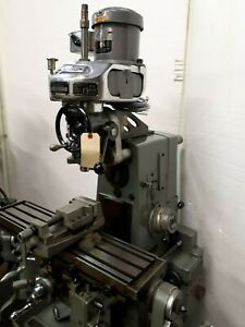 Vertical Milling Attachment Clausing 8540 Bridgeport M Head