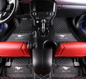 Fit For Ford Mustang 2010 2019 Luxury Custom Waterproof Car Floor Mats Trunk Mat