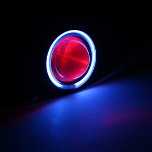 Motorcycle Led Projector Headlight Devil Angel Eye Super Bright Universal Us