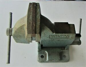 Vintage Wilton No 121118 Tilting Machinist Bench Vise 15 Lbs 4 Jaw