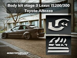 Wide Bodykit Stage 3 Lexus Is300 toyota Altezza