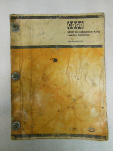 Case 580 c Construction King Tractor With Loader And Backhoe Parts Catalog 1978