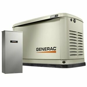 16 Kw Air cooled Standby Generator 100a 16 Circuit Lc Nema3 W Wi fi 7036