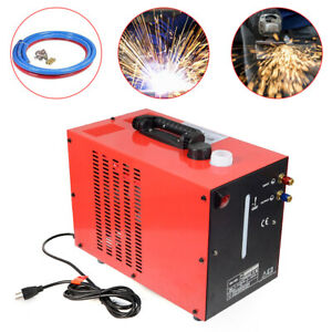 110v Powercool Tig Welder Torch Water Cooler 10l Welding Cooling Tank 1l min