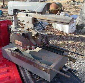Rockwell Delta 10 Deluxe Radial Arm Saw