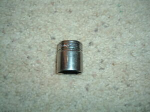 Vintage Snap On 6 Pt 3 8 Drive 13 16 Socket S A E Fs261 Hand Tools Rat Rods