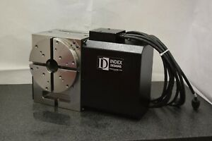 used 210mm Rotary Table cnc With Indexer Control Box Index Designs