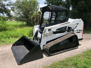 2014 Bobcat T550 Track Skid Steer Loader Ready To Work Low Hours