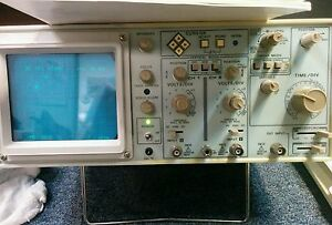 Protek P 2620 Oscilloscope With Manual