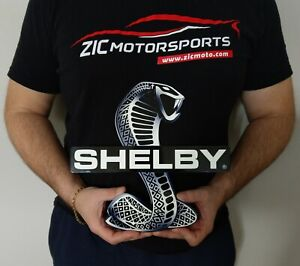 Shelby Snake Sign Black 11 X 11
