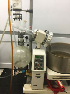 Lot Of Buchi Rotavap R 153 Rotary Evaporator recirculating Cooler And Pump